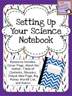 Setting Up Your Science Notebook $