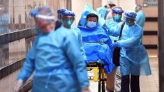Medical staff transfer a patient of a highly suspected case of a new coronavirus at the Queen Elizabeth Hospital in Hong Kong, China January Picture taken January cnsphoto via R… Wuhan, Beijing, Institut Pasteur, Dengue, Hongkong, China Travel, Macau, Kirk Douglas, Taiwan