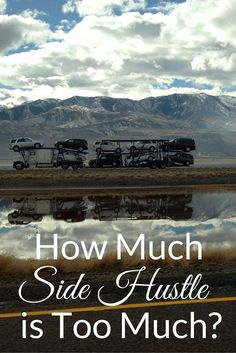 A side hustle can be excellent way to fight wage stagnation, but how much side hustle is too much? Here's my experience.   Cashville Skyline unique jobs, unique careers, career tips