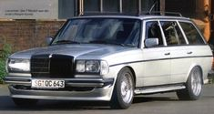 The Mercedes E W123 AMG is the model that replaced the preceding series, the W 114/115. This was way...