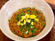 Harira: Moroccan Chickpea Stew with Chicken and Lentils