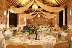 décoration de table mariage élégante de style rustique