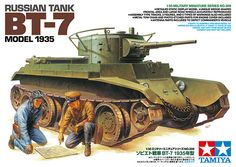Maquette - Kit Russian Tank BT-7 Model 1935 – TAMIYA 35309