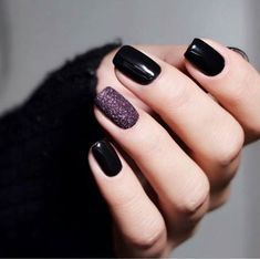 Pretty Nail Art Design Ideas For Party can find Pretty nails and more on our website.Pretty Nail Art Design Ideas For Party 45 Pretty Nail Art, Beautiful Nail Art, Beautiful Pictures, Black Nail Designs, Nail Art Designs, Nails Design, Blue Nail, Black And Purple Nails, Black Gel Nails