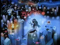 Seiji fujishiro  - mermaid  藤城清治「人魚姫」(1979)