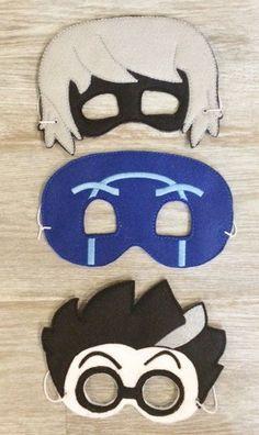 Handmade PJ Masks Set of three Villains Night Ninja, Luna & Romeo