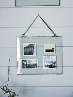 NEW Delicate Landscape Frame - Copper - Decorative Home - Indoor Living