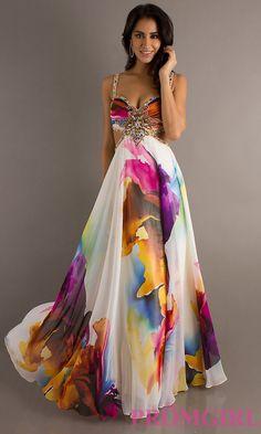 Long Prom Dress Style: DJ-8713 Front Image