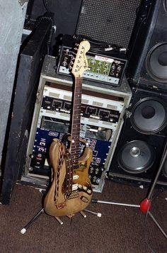 Fast Eddie Clarke Strat Eddie Clarke, Leo Fender, Guitar Amp, Music, Tattoo Inspiration, Sky, Ideas, Audio System, Musica