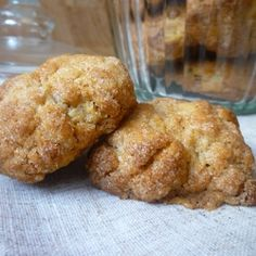 Ginger Biscuits - A sweet, spicy cookie. One bite and you'll beg it to marry you.