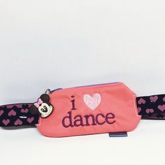 I love dance / insulin pump pouch