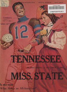 UT vs. Mississippi State (Homecoming, October 7, 1961)