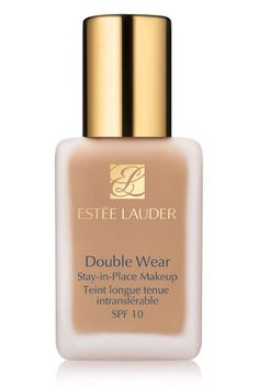 Estée Lauder's budge-proof foundation is one of the few we've tried that allows us to pull a shirt over our heads without leaving any telltale makeup marks. The oil-free liquid offers buildable coverage and retains its beautiful velvety-matte finish even through a day outdoors. Bonus: It's available in an impressive 31 shades to suit a whole spectrum of skin tones.  Estée Lauder Double Wear Stay-in-Place Makeup, $37; nordstrom.com   - ELLE.com