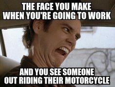 Or going anywhere other than on the bike! Oder irgendwo anders als auf dem Fahrrad! Biker Love, Biker Girl, Biker Chick, Ride Out, My Ride, Motorcycle Humor, Funny Motorcycle Quotes, Dirt Bike Quotes, Dirtbikes