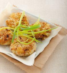 Mini medaglioni di patate e seitan