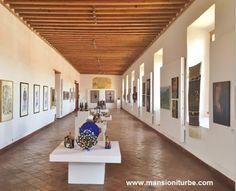 Exposiciones temporales en Pátzcuaro en el Centro Cultural Antiguo Colegio Jesuita, aquí apreciamos ARARTE