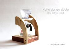 Pour-over coffee stand/ Drip coffee stand