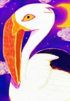 pelican by Yukimichi Hamaura