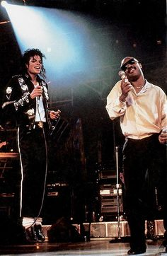 micheal jackson and stevie wonder