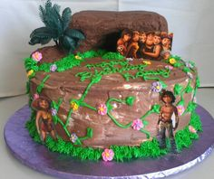 I think its a good cake for Croods theme!