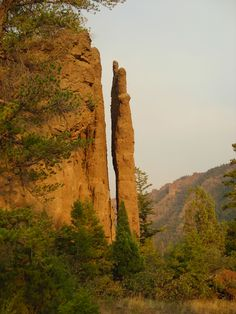 chimney rock, just out side of Cody, WY