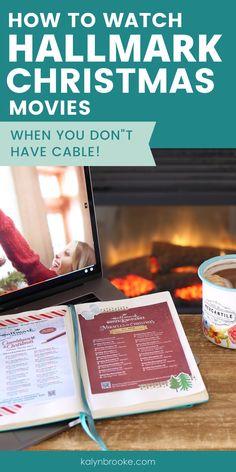 Xmas Movies, Hallmark Holidays, Hallmark Movies, Tv Without Cable, Cable Tv Alternatives, Free Tv And Movies, Tv Options, Money Saving Tips