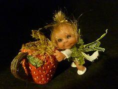 ooak baby miniature  fairy faerie  woodland sprite by No Tua Lyke