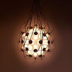 "moodboardmix:  Satoshi Itasaka ""The Birth Lamp"". Studio h220430. Photos by Elly."