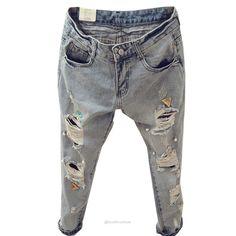 Fashion Summer Style Women Ripped Jeans  -  Jeans  -  Look Love Lust  https://www.looklovelust.com/products/fashion-summer-style-women-ripped-jeans