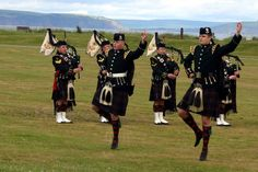 Highland Regiment by the Moray Firth