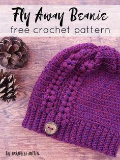 Crochet Headband Free, Crochet Adult Hat, Crochet Hats For Boys, Crochet Toddler, Crochet Cap, Crochet Baby Hats, Free Crochet, Crocheted Hats, Baby Hat Knitting Pattern