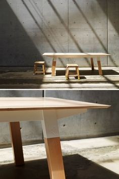 Modern Furniture by Koskela Cube Furniture, Design Furniture, Wood Furniture, Modern Furniture, Mid Century Modern Table, Wood Plans, Country Furniture, Handmade Furniture, Furniture Inspiration