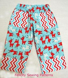 """The Play Pants pattern can be downloaded free at the checkout: just add the pattern listing to the shopping cart and """"buy"""" it for free when you checkout. The pa"""