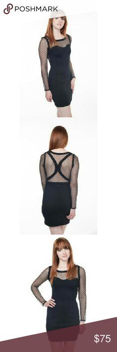 Keepsake The Label black mesh dress Keepsake The Label black mesh sheer dress. Very cute, great material. Worn twice  ☆OPEN to reasonable offers ☆In perfect condition Keepsake The Label  Dresses