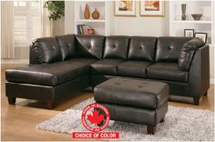 Mark 2pc Canadian Made Sectional Sofa