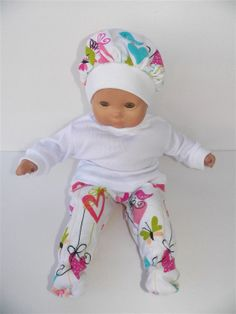 American Girl Bitty Baby 15 Doll Clothes by adorabledolldesigns, $11.99