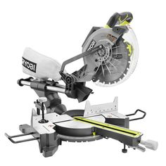 Ryobi 13-Amp 10 in. Sliding Miter Saw with Laser-TSS102L - The Home Depot