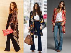 Como usar: kimono no trabalho - Moda it