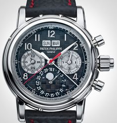 Patek Philippe Creates Unique 5004 Split-Seconds Perpetual Calendar In Titanium For Only Watch 2013 — HODINKEE - Wristwatch News, Reviews, & Original Stories