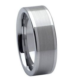 tungsten carbide wedding ring jtg0006 - Mens Platinum Wedding Rings