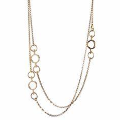 """Kalevala Inger Bronze Necklace – 41"""" - Click to enlarge"""