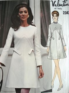 indypendentstyles:  1960s VALENTINO DRESS   (via...