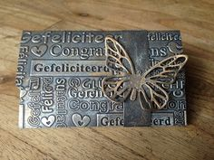 19 mei: metallic giftcardholder
