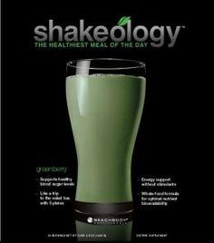 Greenberry Shakeology Recipe: Strawberry Peach Paradise