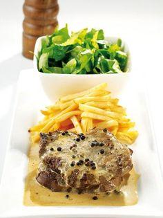 Φιλέτο μοσχαρίσιο με πράσινο πιπέρι - www.olivemagazine.gr