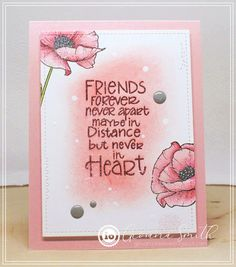 Impression Obsession Cards, Believe, Cards For Friends, Friend Cards, You're My Favorite, Foam Adhesive, Gift Certificates, Friends Forever, Card Sizes