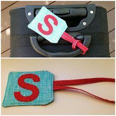 Un identificador de maletas DIY personalizado