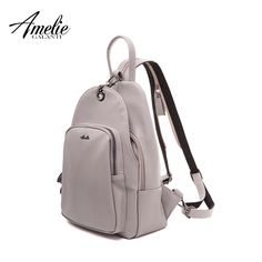 Elegant Backpack For Women. Available Colors - Red, Gray and Black //Price: $37.45 & FREE Shipping //     #Style