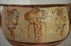 Archaeological Museum of Aegina, Kolona: Mycenaean pottery.