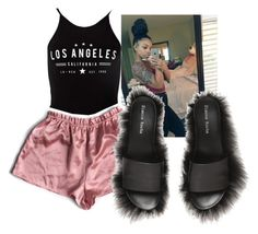 """""""and when i sleep i dream of L.A"""" by therealslimm ❤ liked on Polyvore featuring Miss Selfridge and Simone Rocha"""